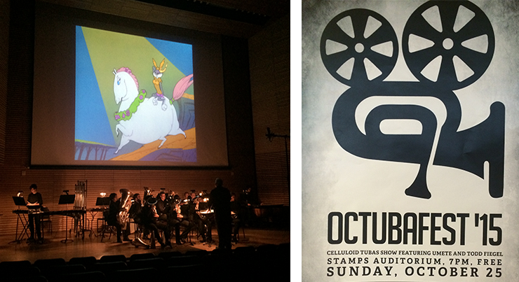 Octubafest brought film and horns together for Celluloid Tubas