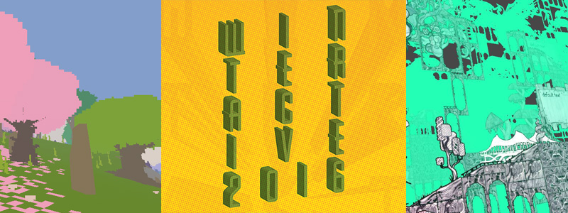 Winteractive exhibition logo