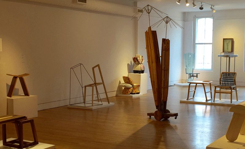 Mid-West Furniture Zoku at the Ann Arbor Art Center's 117 Gallery