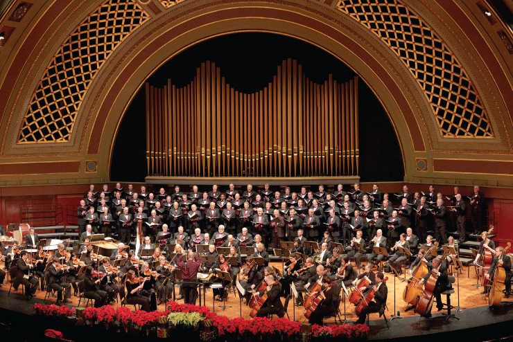 Ann Arbor Symphony Orchestra's Holiday Pops concert