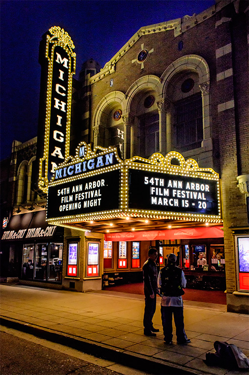 The Michigan Theater.