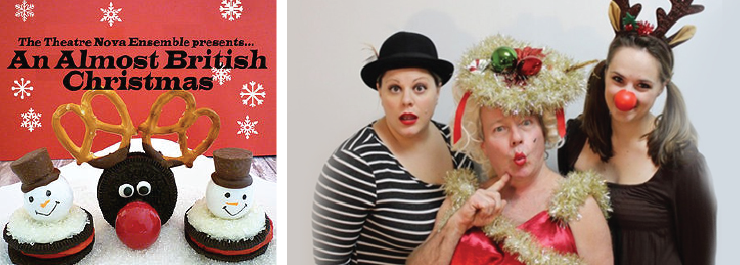 British Panto comes to Ann Arbor in Theatre Nova's An Almost British Christmas