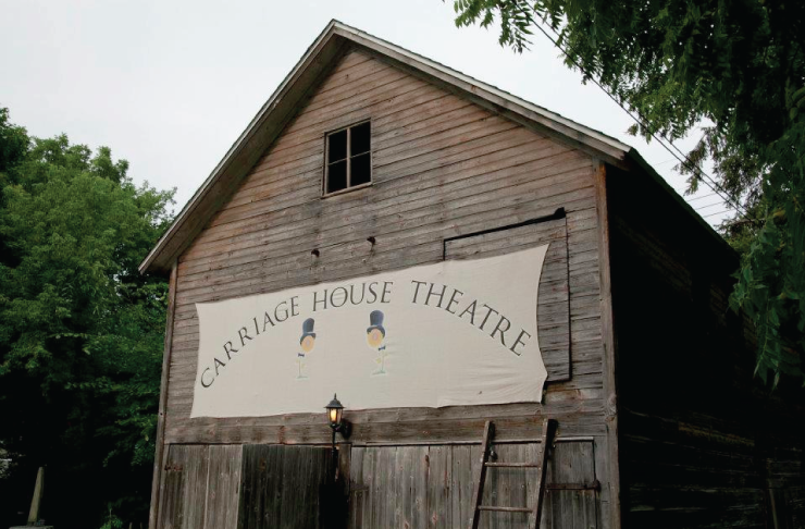 Carriage House Theater's Summer Schedule.