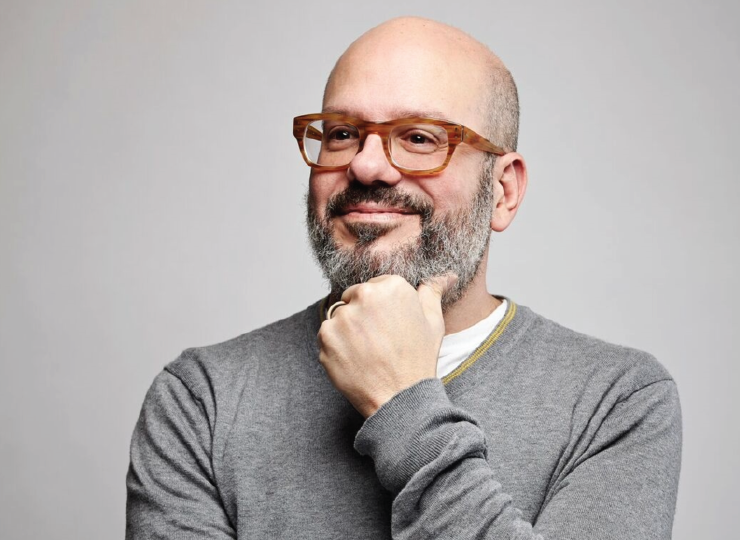 David Cross had a little bit of fun at the Michigan Theater this Saturday.