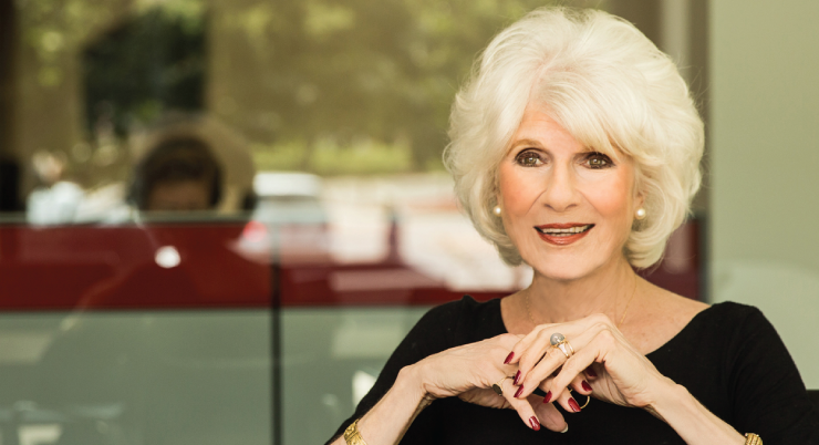 Diane Rehm visited Rackham Auditorium Thurday to discuss her new memoir.