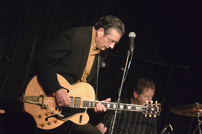 George Bedard brings Match Box Blues to the Ark on August 27.