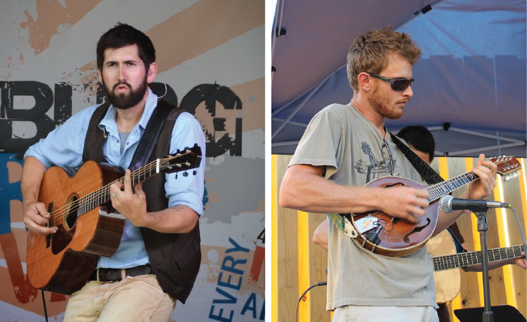 Jay Lapp & Kyle Rhodes bring mandolin power to the Old Town Tavern this Sunday