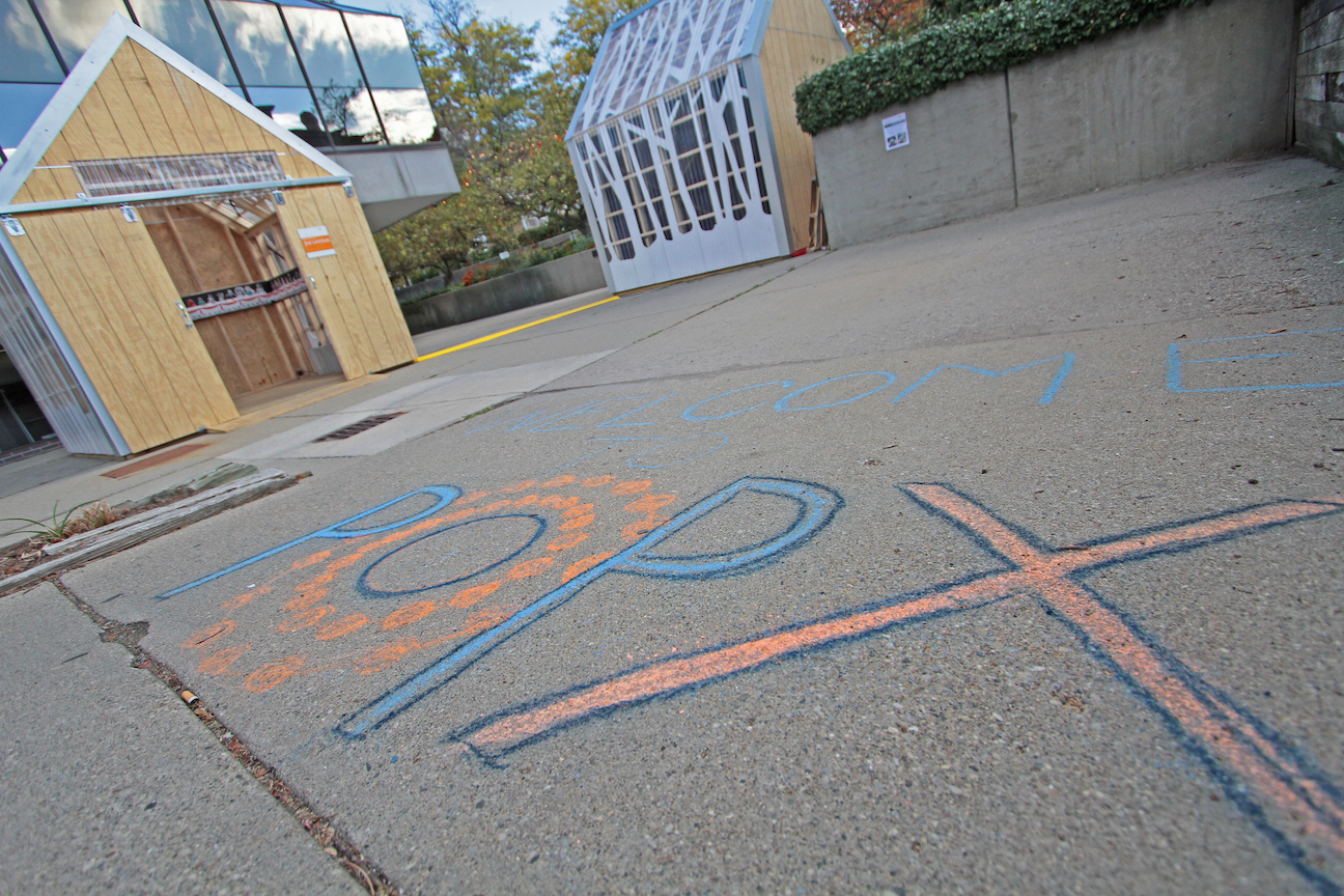 Welcome to POP•X chalk art