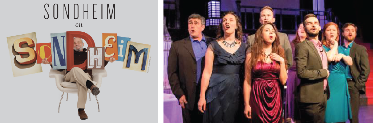 The company of Encore Theatre's Sondheim on Sondheim