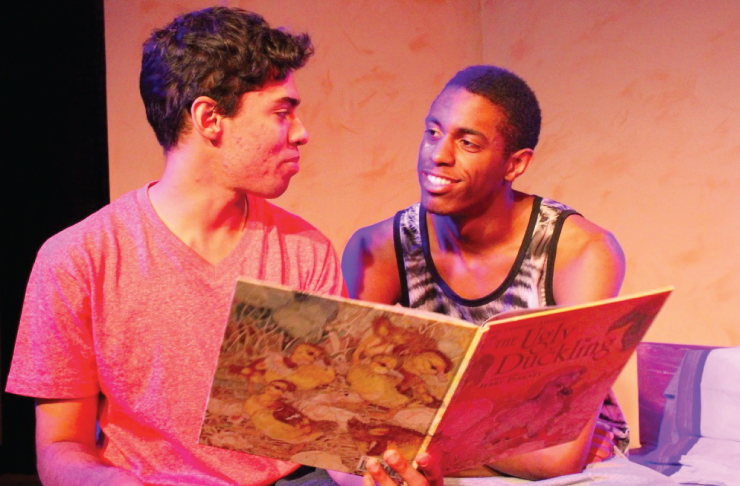 Theatre Nova's latest spins a tale of two vulnerable young men.