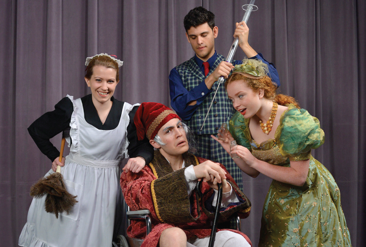 The Imaginary Invalid presented by the U-M SMTD Dept. of Theatre & Drama.