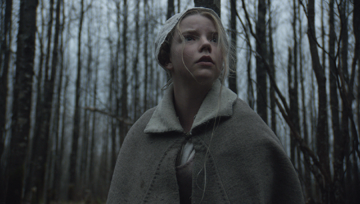 Anya Taylor-Joy in her breakthrough performance in The Witch.