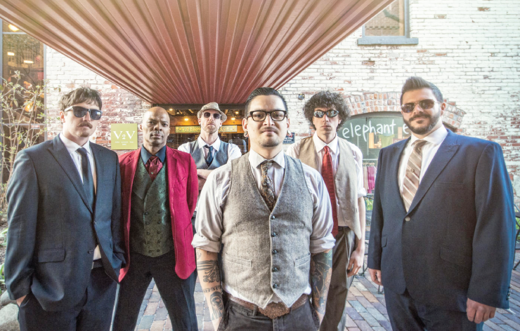 The Ann Arbor-based funk ensemble Third Coast Kings.