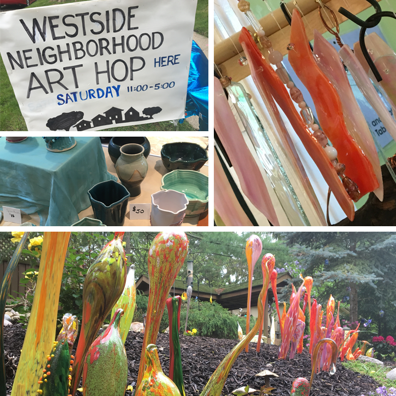 Westside Art Hop Highlights.