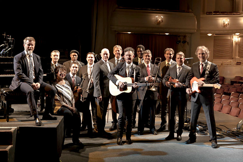 Lyle Lovett and His Large Band at The Michigan Theater