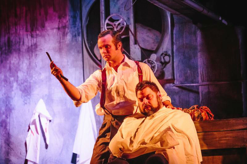 Sweeney Todd at The Encore Musical Theatre Company by Michele Anliker Photography
