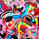 "Dennis Jones' ""Candyland"" is a graffiti-inspired exploration of post-painterly art"
