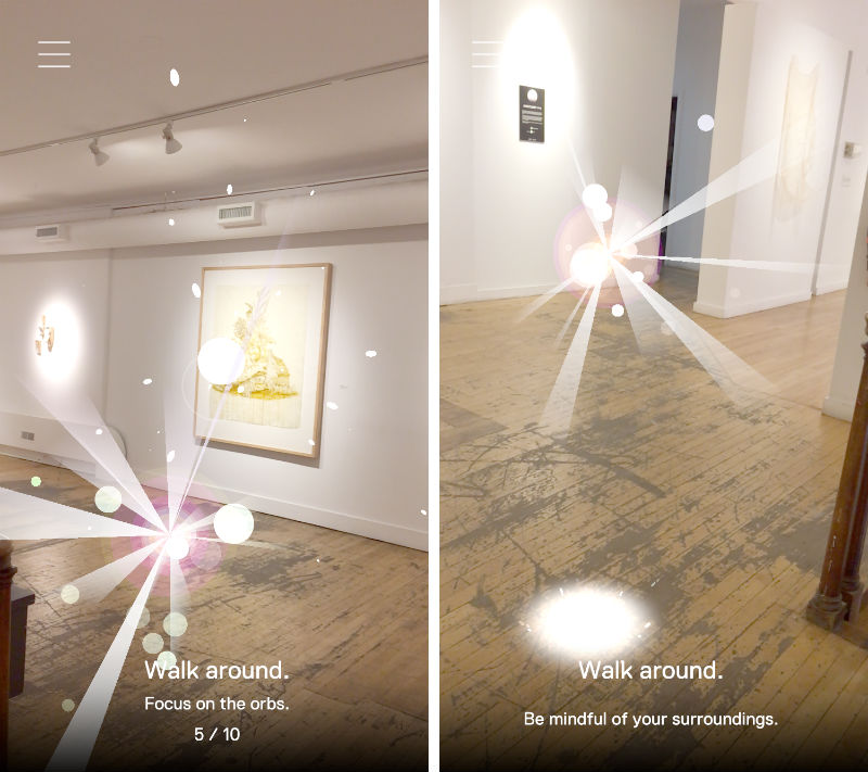 Ann Arbor Art Center's app for Sanctuary