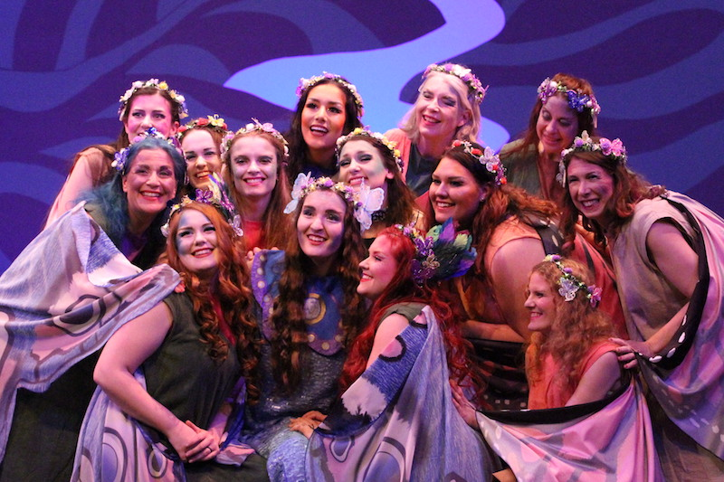 The Fairy Chorus and Iolanthe Herself
