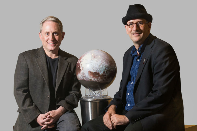 Dr. Alan Stern and Dr. David Grinspoon
