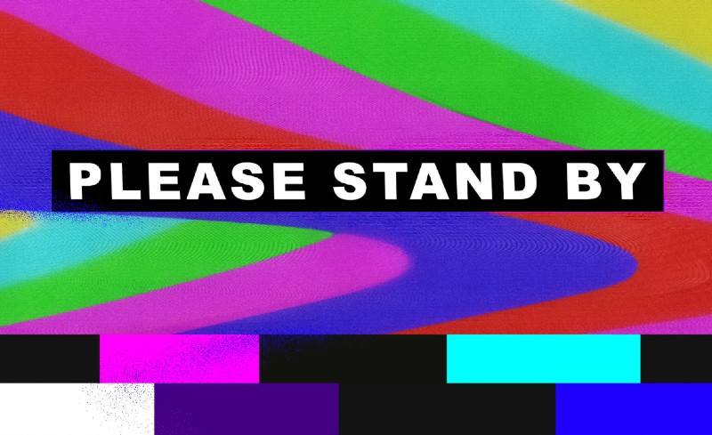 Please Stand By: The 2021 Stamps School Senior Exhibition banner