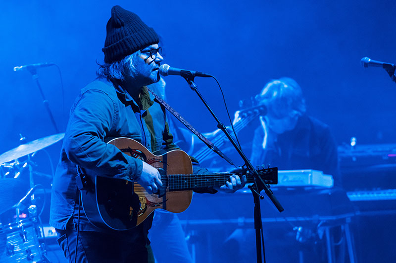 Wilco by Doug Coombe - Hill Auditorium, November 5, 2019