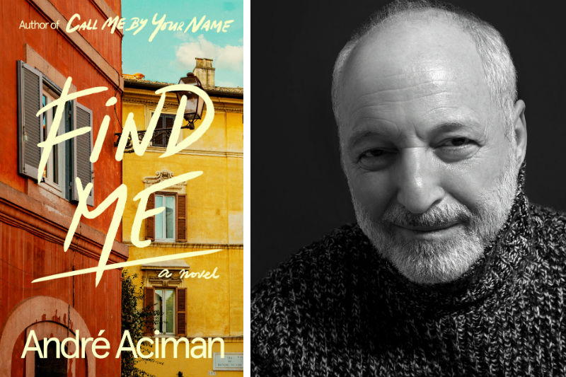 Andre Aciman and his book Find Me