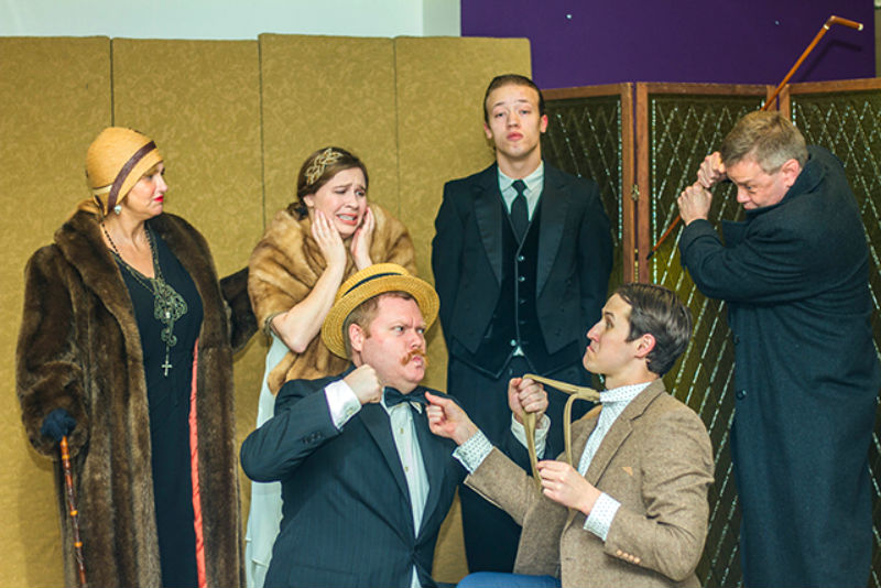 Ann Arbor Civic Theatre's Jeeves Intervenes
