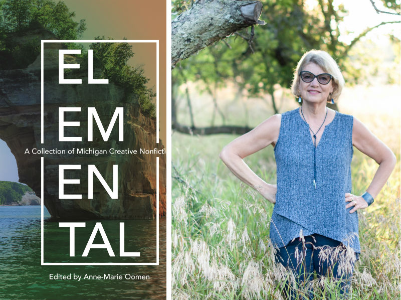 Anne-Marie Oomen and her book Elemental