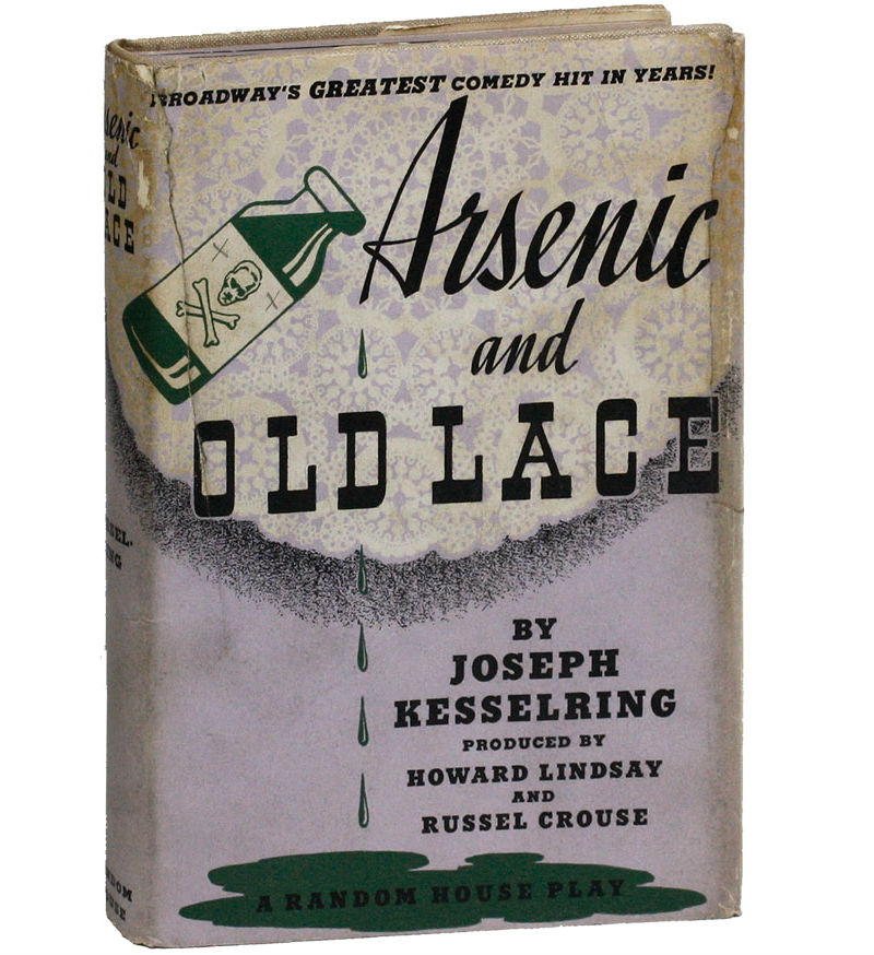Original 1941 edition of Arsenic & Old Lace