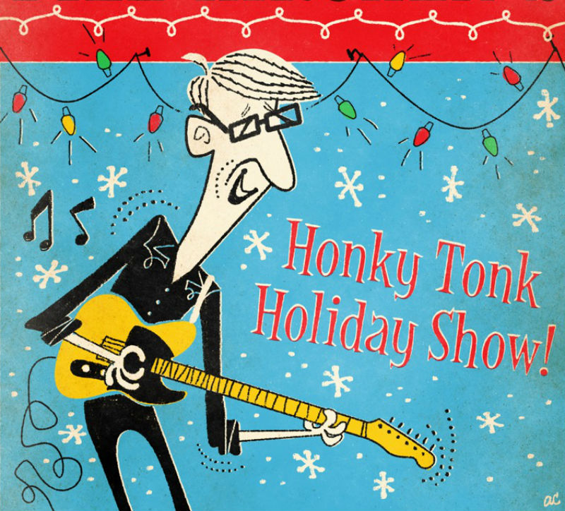 Excerpt from Bill Kirchen's Holiday Honk Tonk 2019 poster