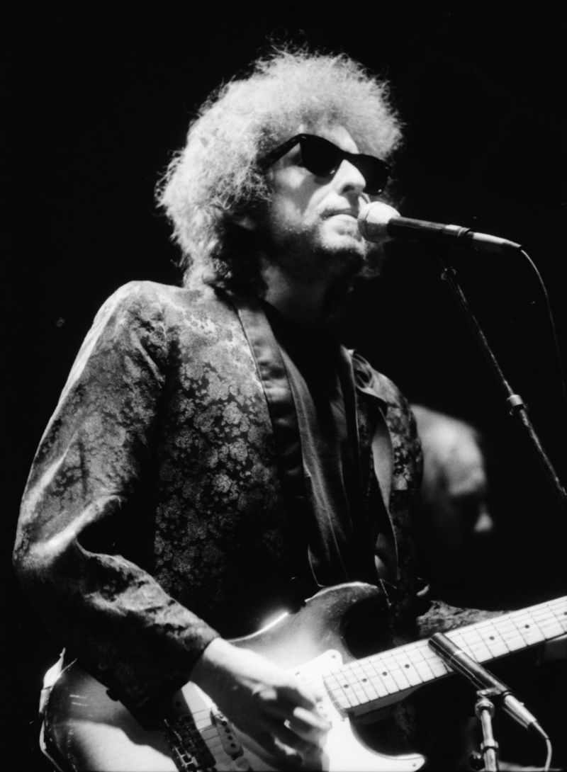 Bob Dylan at Hill Auditorium, November 1981