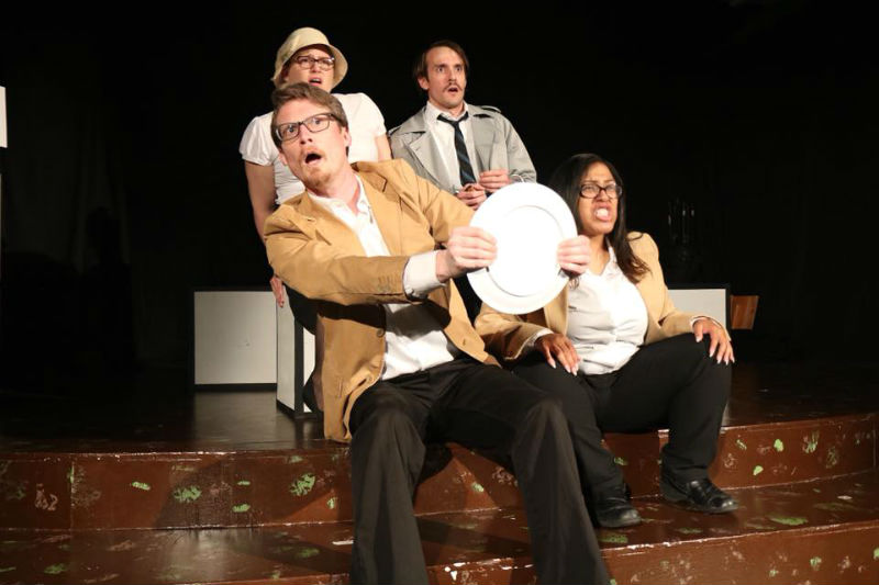 Brass Tacks Ensemble's The 39 Steps