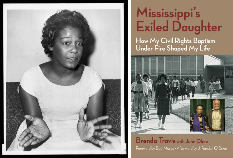 Brenda Travis and her book Mississippi's Exiled Daughter