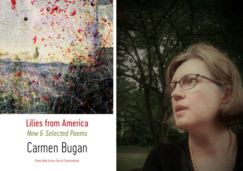 Carmen Bugan and her book Lilies From America