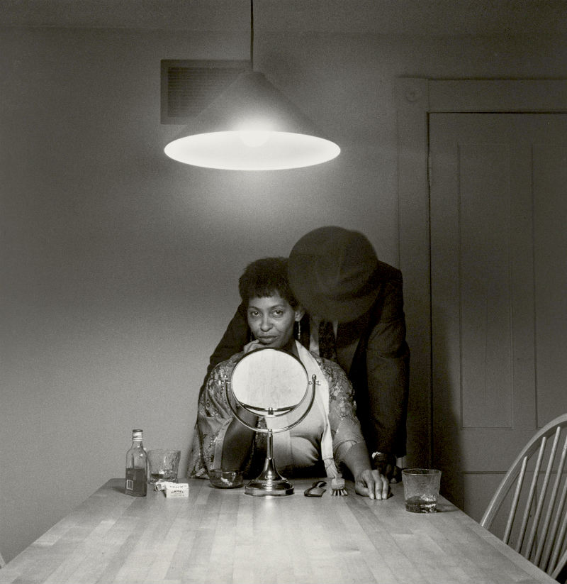 Carrie Mae Weems photo from her Kitchen Table Series