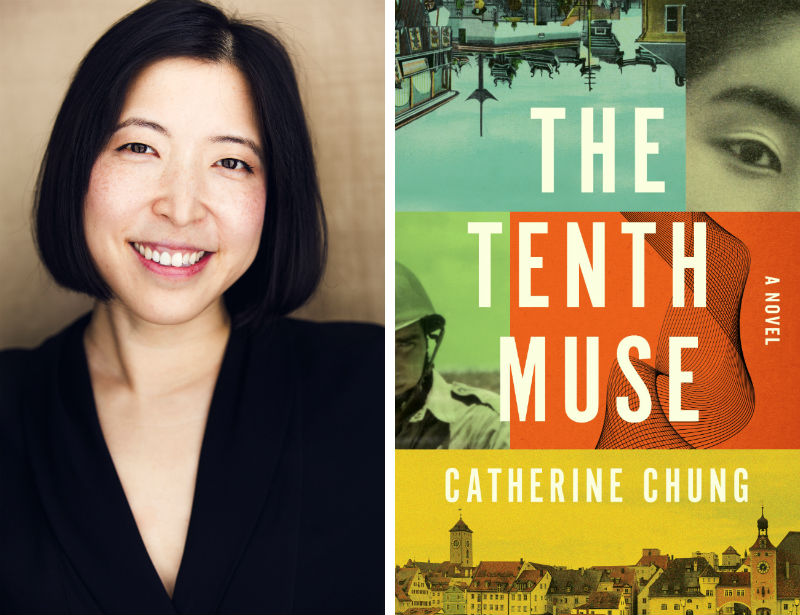 Cathy Chung and her book The Tenth Muse