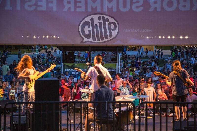 Chirp at Top of the Park, June 30, 2018