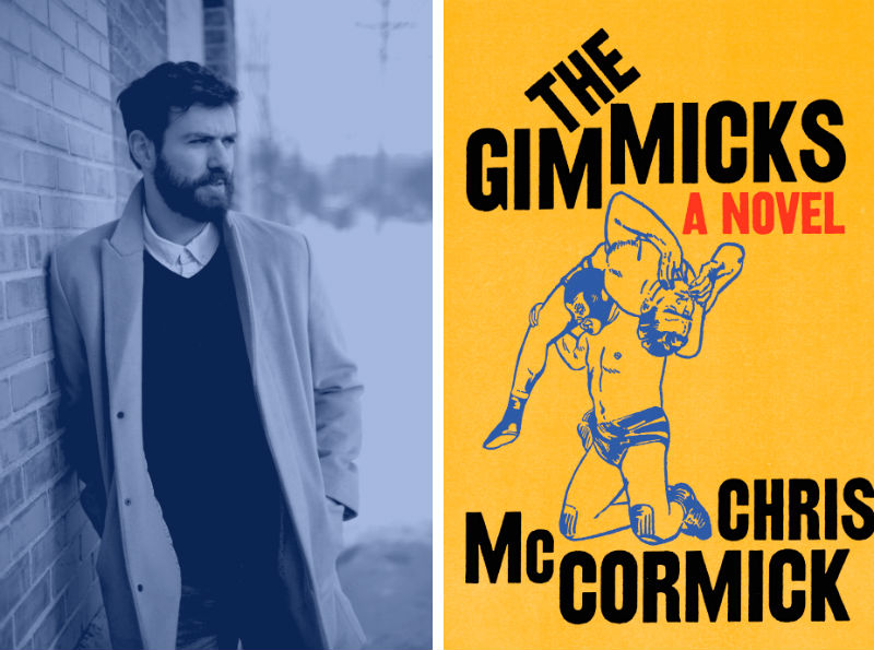 Chris McCormick and his book The Gimmicks