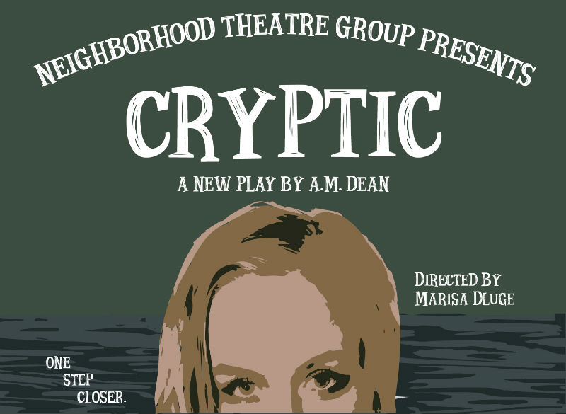 Cryptic poster for Neighborhood Theatre Group