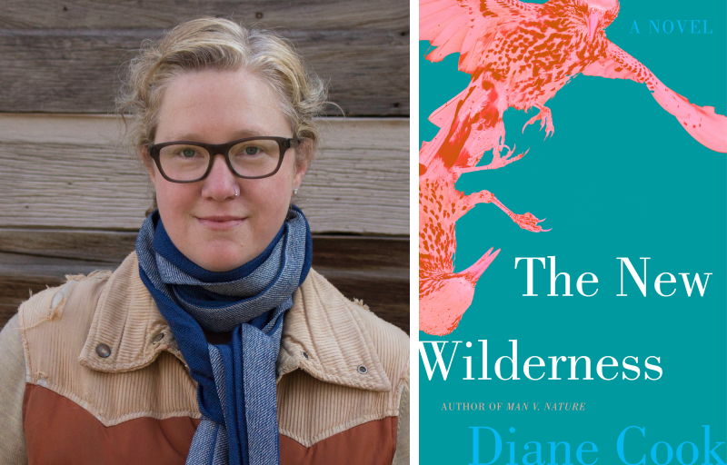 Diane Cook and her book The New Wilderness