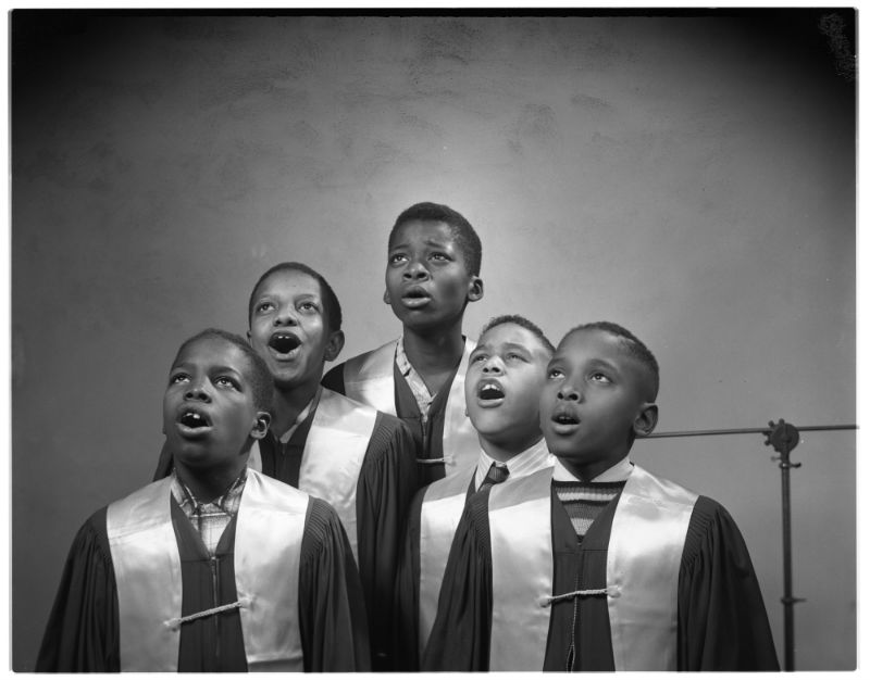 Eck Stanger - Second Baptist Church Boys Choir, December 1954
