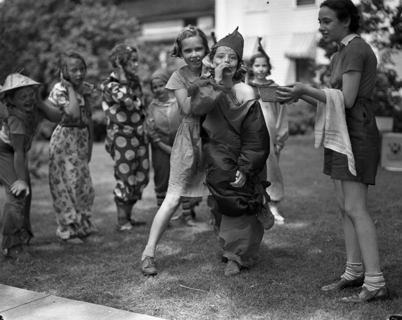 "Eck Stanger - YWCA Day Camp ""Circus,"" July 23, 1937"