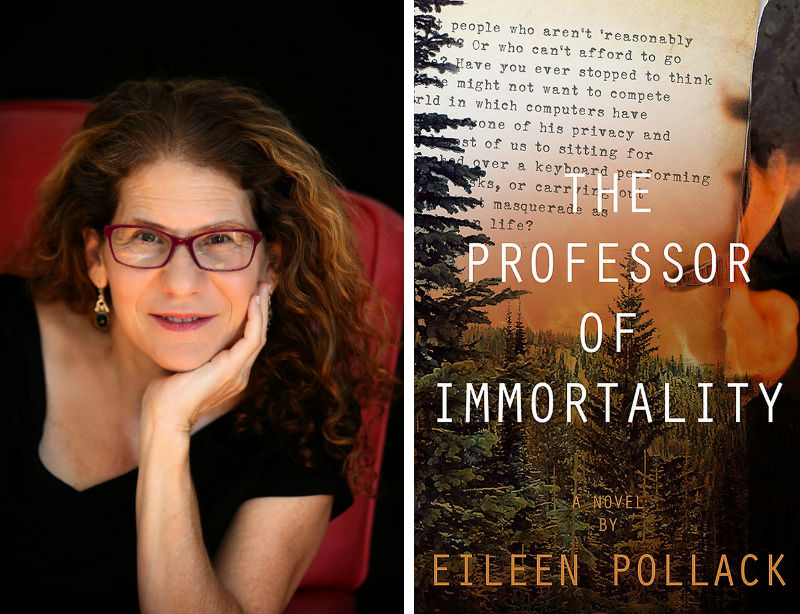 Eileen Pollack and her book The Professor of Immortality