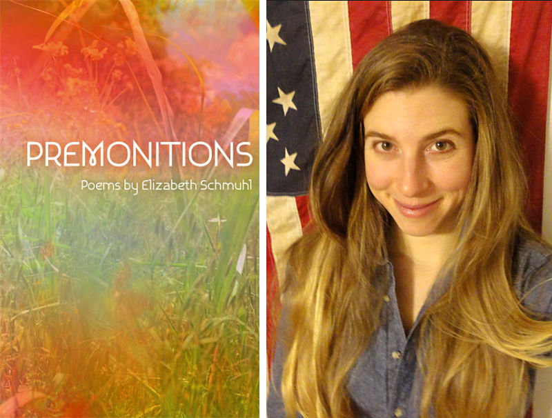 Elizabeth Schmuhl and her book of poetry, Premonitions