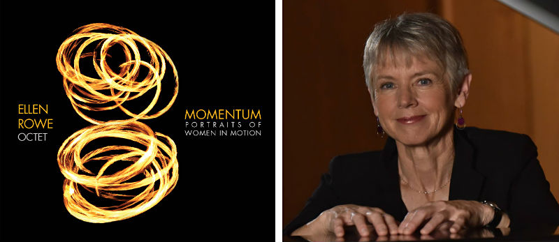 Ellen Rowe and her album Momentum