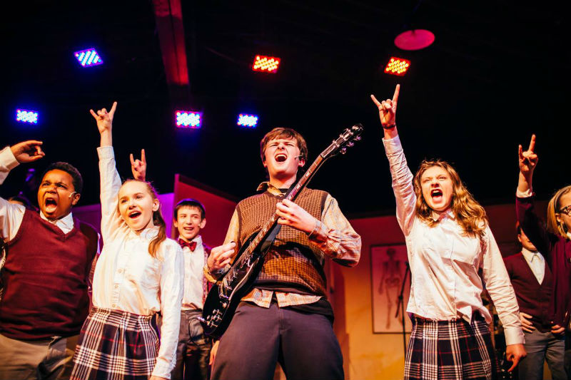 Encore Theatre's School of Rock