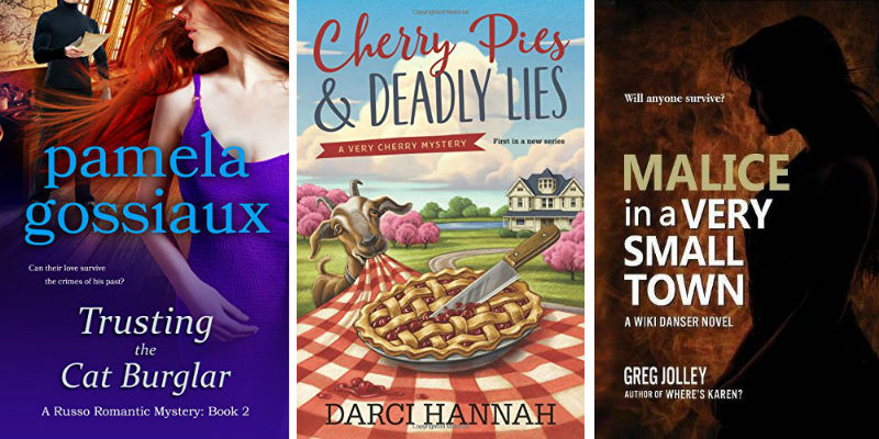 Books by Pamela Gossiaux, Darci Hannah, and Greg Jolley