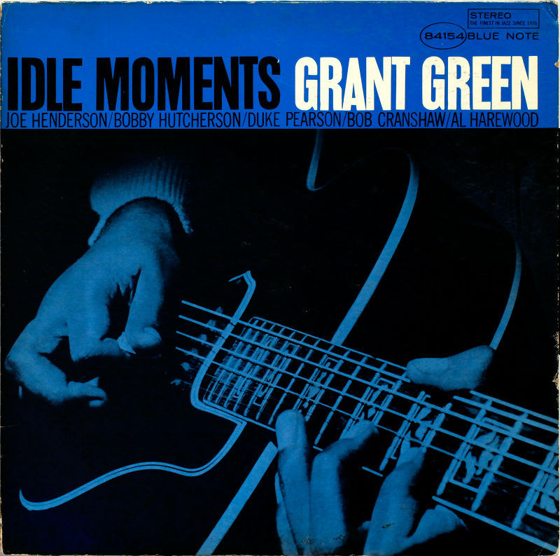 Grant Green's Idle Moments album cover