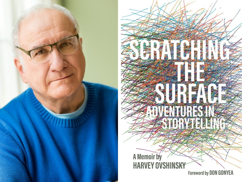 Harvey Ovshinsky and his book Scratching the Surface